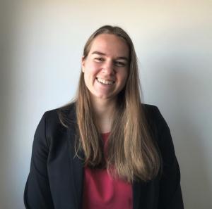 Asistente legal de CELHP, Allison Piper